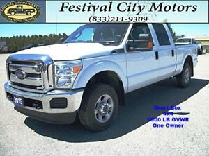 2015 Ford F-250 XLT  Short Box   4x4   CERTIFIED