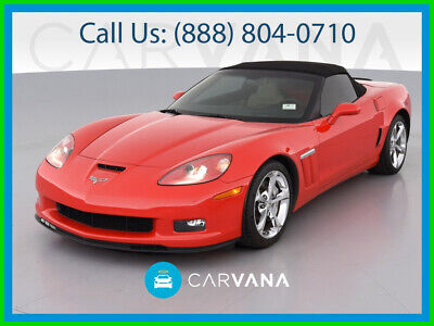 2012 Red Chevrolet Corvette Convertible 3LT   C6 Corvette Photo 1