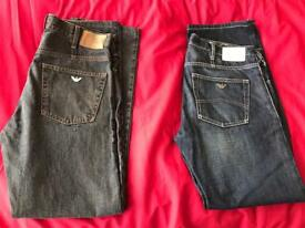 Armani jeans size 34. Genuine and Authentic
