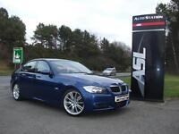 BMW 3 SERIES 320d M Sport 4dr (blue) 2007