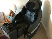 Massage Chair Inada Sogno Dreamwave HCP10001D in black / grey