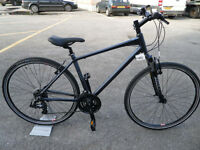 Raleigh Strada 1 Brand New Hybrid Sports Leisure Commuting Bike Suspension Forks