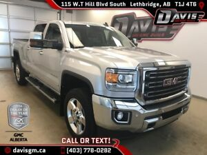 Diesel-2016 GMC Sierra 2500HD SLT-Navigation, Heated/Cooled Leat