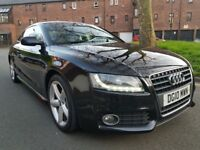 AUDI A5 2.0 TDI S LINE FULLY SERVICE HISTORY CAMBELT KIT DONE LEATHER SEATS PERFECT CONDITION XENON