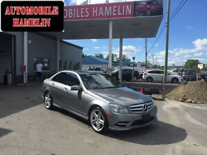 2011 Mercedes-Benz C-Class C350 GPS TOIT MAGS AMG PACKAGE