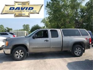 2009 GMC Sierra 1500 SLE EXT 2WD SHORT/ CAP/ HITCH/ REMOTE STRT/