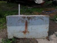Metal diesel tank for boat