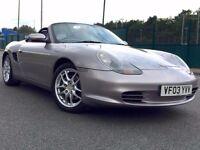 2003 Porsche Boxster 2.7 986 Convertible Tiptronic S 2dr