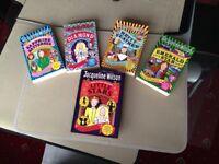 5 x Jacqueline Wilson Books