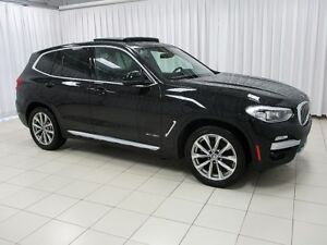 2018 BMW X3 30i x-DRIVE AWD SUV w/ HEATED LEATHER SEATS, SUNRO