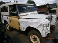 FOR RESTORATION 2 LAND-ROVERS SERIES MK 11 AND MK 111