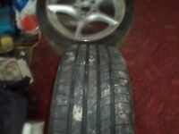 Set of Superb BMW 108 Wheels and Goodyear F1 Assymetirc 2 tyres