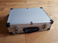 Varo silver aluminium storage flight case