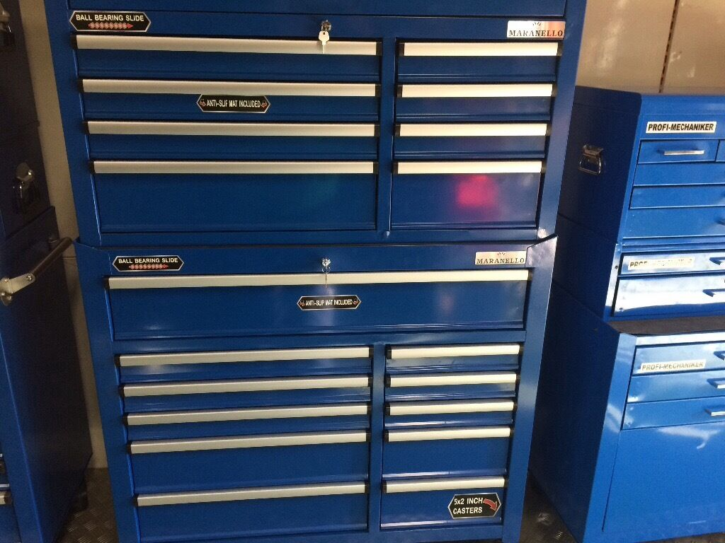 2 Piece tool chest