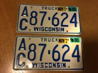 US plates for your Classic / Vintage truck or pickup