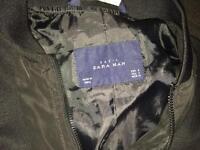 Men's black Zara jacket size small