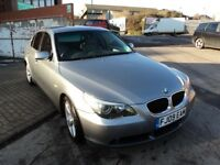 Absolutely Superb BMW 525 SE 2009 Automatic Full Leather Light Ash Grey Veneer