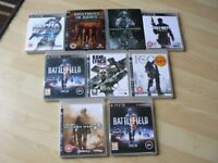 9 PS3 GAME,S