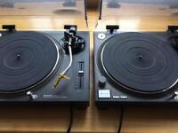 Technics 1210 mk2 pair 1210mk2 one owner since new