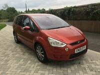 2009│Ford S-Max 2.0 TDCi Titanium 5dra automatic │3 MONTHS WARRANTY│FULL SERVICE HISTORY