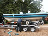 Boat Recovery Transport Towing Service Surrey South Coast all UK Piggyback system