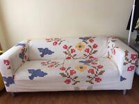 Ikea fabric sofa for sale