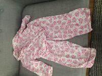 Monsoon pyjamas age 3-4 years