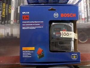 Bosch 5-Point Self Leveling Alignment Laser [Model GPL 5 S]