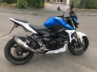 Beautifully maintained GSR 750 ABS one owner from new