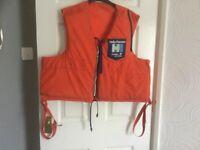 Mans large Helly Hanson buoyancy aid