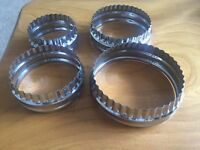 Cookie / Biscuit Cutters x 4