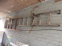 12ft single aluminium ladder £25