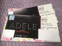 Adele tickets Sunday 2nd July 2017