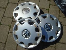 Wheel Trims full set of Ford/VW/Other in total 15 trims used condition.