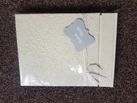 Wedding guest book, new.