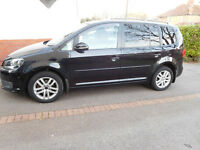 2 Owners From New - VW TOURAN 7 SEAT MPV - PERFECT FOR FAMILY LIFE - Well maintained