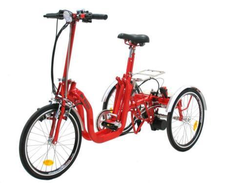 Wonderbaarlijk ≥ Driewieler Opvouwbare elektrische vouw drie wieler di blasi UZ-64