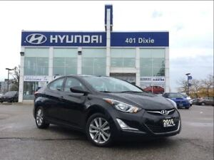 2016 Hyundai Elantra SPORT|ALLOYS|BACK-UP CAM|SUNROOF|