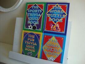 4 QUIZ BOOKS