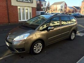 Citroen C4 Grand picasso VTR+ !!1.6 diesel 7 esters Looks and drive Perfect Clean and tidy AUTOMATIC