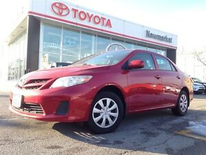 2013 Toyota Corolla CERTIFIED ONE OWNER, NO ACCIDENT HISTORY