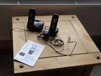 DIGITAL TWIN BT CORDLESS PHONES