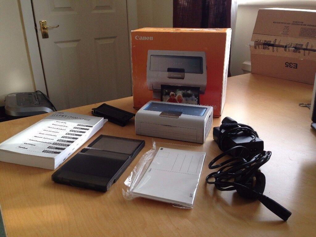 Canon Selphy CP400 Compact Photo Printer