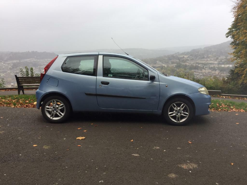 2003 Fiat Punot Active Sport. £350 ONO.