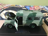 1/18 Diecast Land Rover Series 3 Army