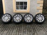 "Genuine Range Rover Sport 20"" Alloys"
