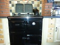 ***** Rayburn Stove Range - oil fired boiler and cooker ******
