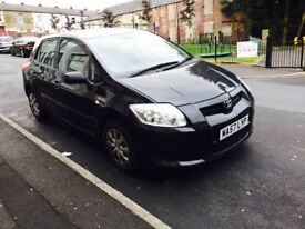 Toyota auris 1.4 d4d 5 Door cheap tax Insurance excellent fuel warranty finance delivery offers px