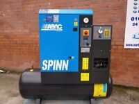 Abac Spinn E Compressor, Dryer & Receiver Pacakge 2.2kW / 200L Single Phase 240V