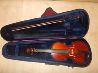 Violin: 3/4 Size Stentor Student II Violin Outfit